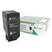 CX725 cyan tonerkassett med høy kapasitet (84C2HCE)