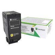 CX725 gul tonerkassett med høy kapasitet (84C2HYE)