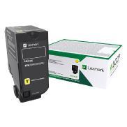 Gul tonerkassett til Lexmark CS727, CX727, CS728