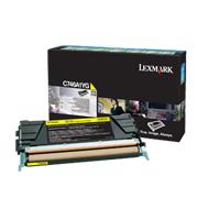 Gul toner til Lexmark X/C746, X/C748