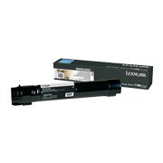 Sort tonerkassett til Lexmark X950, X952 og X954