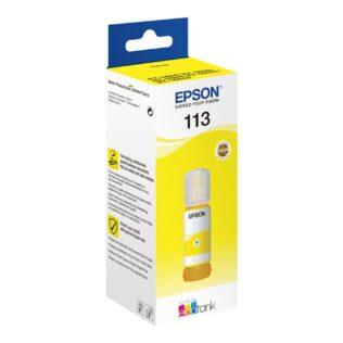 Epson 113 EcoTank Pigment Yellow ink bottle