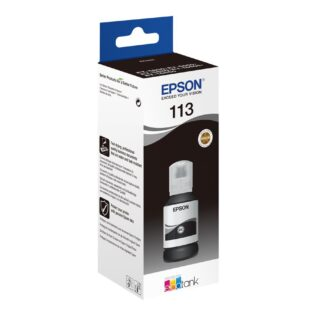 Epson 113 EcoTank Pigment Black ink bottle